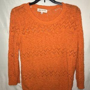 Size L orange sweater